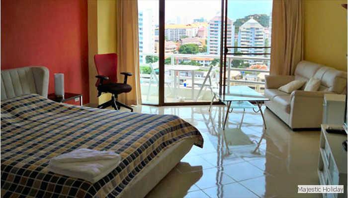 Studios de luxe sup rieur au view talay 2 pattaya - Appartement de luxe studio schicketanz ...