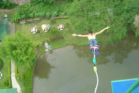 Image result for Pattaya Bungy Jump