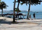 The beach and the beach in Pattaya